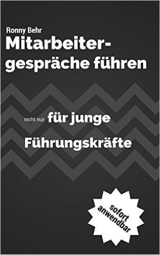 Ronny Behr - Mitarbeitergespräche - Buch