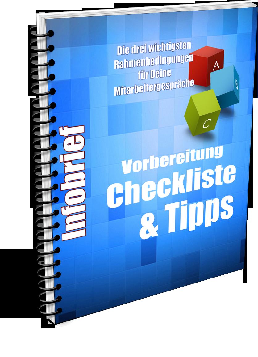 Mitarbeitergespräche Checkliste Infobrief
